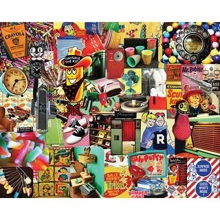 """Jigsaw Puzzle 1000 Pieces 24""""X30""""-Retro, Retro, Retro"""