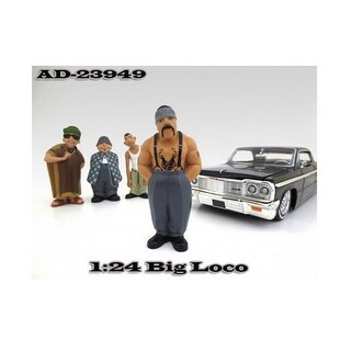 Big Loco Homies Figure for 1-24 Scale Diecast Model Cars