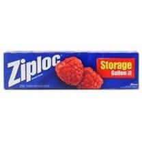 Ziploc 00350 Food Storage Bags, 1 Gallon