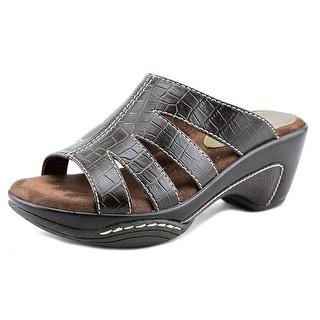 Rialto Velocity Women Open Toe Leather Brown Sandals