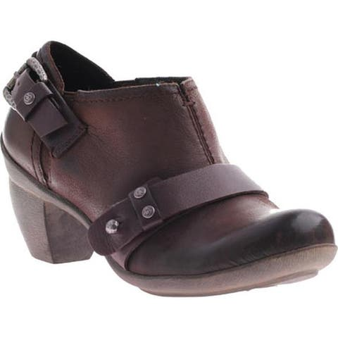 OTBT Women's El Reno Dark Brown Leather