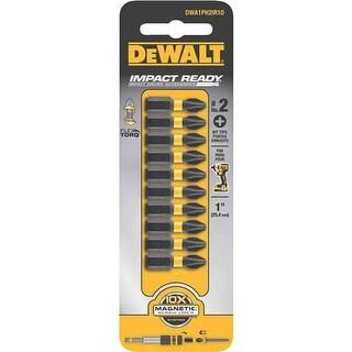 "Black & Decker/DWLT 1"" #2 Phillips Impct Bit DWA1PH2IR10 Unit: EACH"