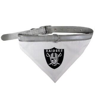 NFL Oakland Raiders Pet Collar Bandana For Pets