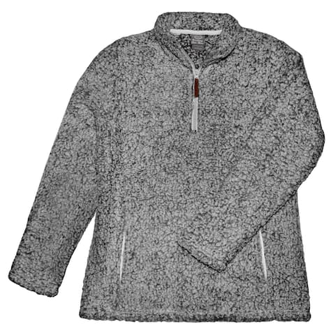 Victory Outfitters Women's Sherpa Fluffy Fleece Sweatshirt Pullover with Pockets