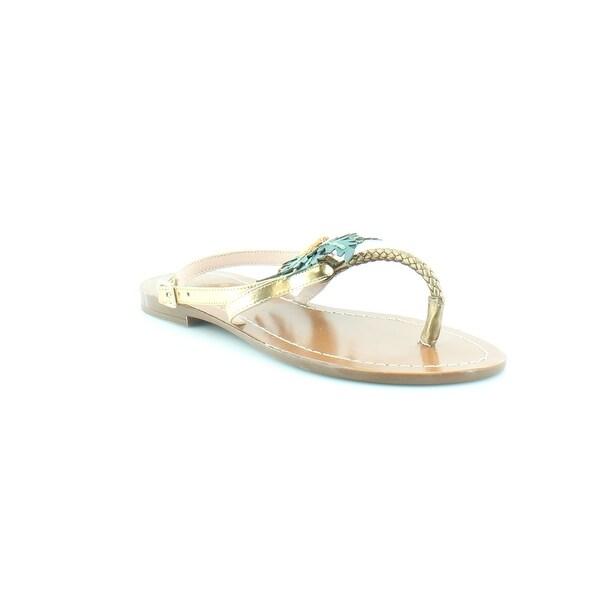 Kate Spade Solana Women's Sandals Bronze Metallic/Nappa Green - 5