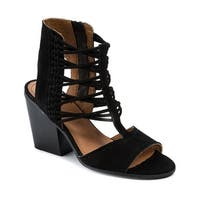 Lucca Lane Amber Women's Heels Black