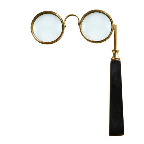 """8"""" Eyeglasses Style Magnifying Glass with Single Handle"""