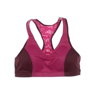 Moving Comfort Womens Athletic Mesh Inset Sports Bra - M