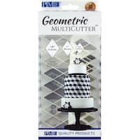 Fondant Geometric Multicutter Set 3/Pkg-Diamond