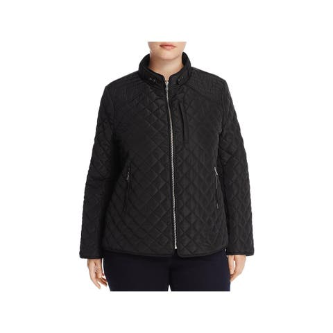 Bagatelle Womens Plus Coat Quilted Winter