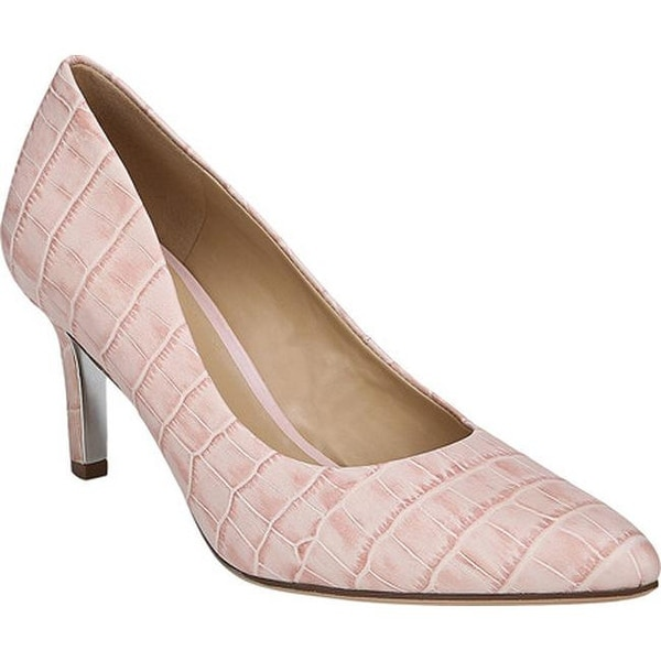 e5ce70c0a8b Shop Naturalizer Women's Natalie Pump Pink Croc Print Leather - On ...