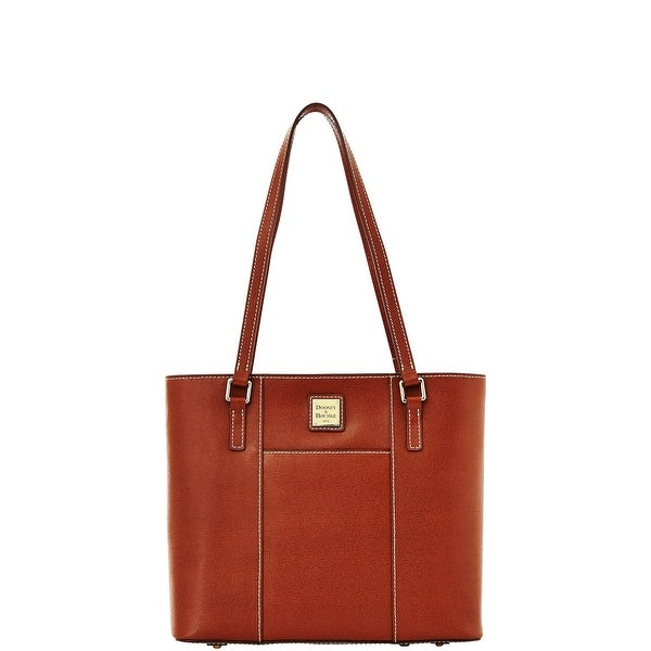 Dooney & Bourke Saffiano Small Lexington (Introduced by Dooney & Bourke at $228 in Aug 2014) - Amber