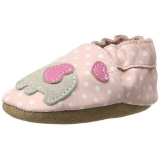 Robeez Little Peanut Crib Flat Shoes