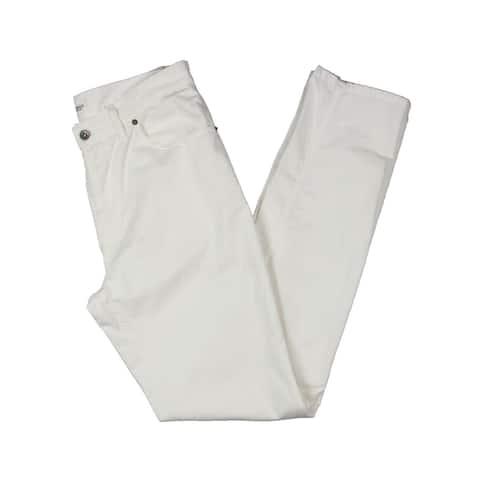 Eidos Mens Chino Pants 5 Pocket Canvas - Canvas Stone Wash - 30R