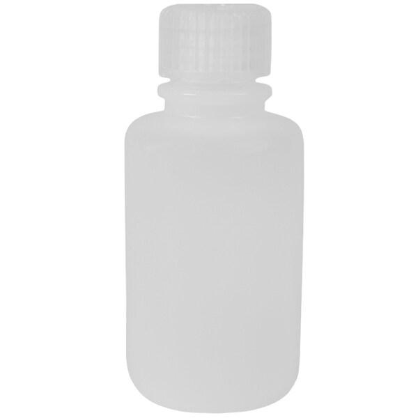 Nalgene HDPE Plastic Narrow Mouth Storage Bottle - 2 oz. - Clear - 2 oz.