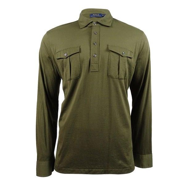 a7da6f7e6f698 Shop Polo Ralph Lauren Men s Military Popover Shirt (XL