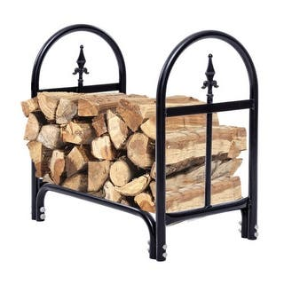 Costway 2 Feet Outdoor Heavy Duty Steel Firewood Log Rack Wood Storage Holder Black|https://ak1.ostkcdn.com/images/products/is/images/direct/d7ea85e6336cc609d9904b2777bf0d3dda2b4b92/Costway-2-Feet-Outdoor-Heavy-Duty-Steel-Firewood-Log-Rack-Wood-Storage-Holder-Black.jpg?impolicy=medium
