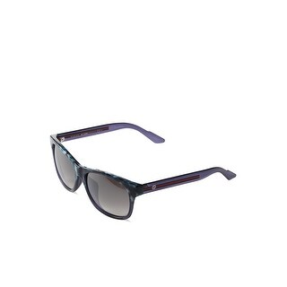 Gg3735Fsh7O Havana Blue Frame Sunglasses With Grey Gradient Lenses - havana blue