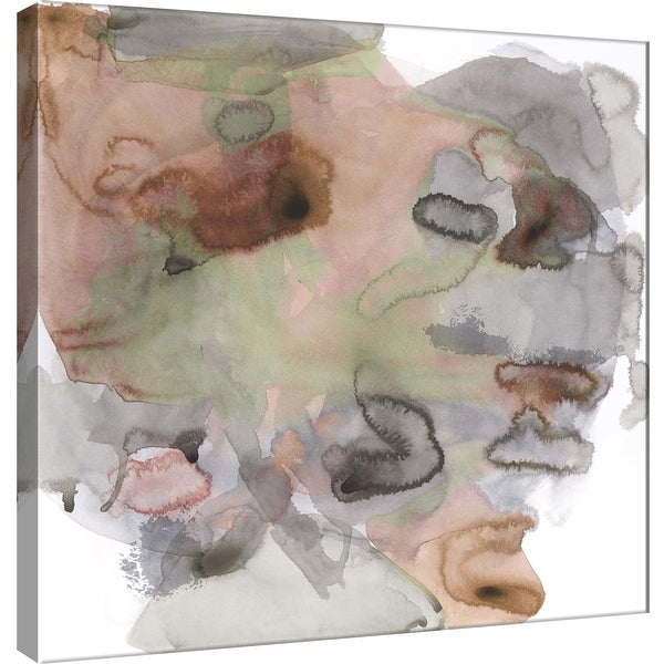"""PTM Images 9-100926 PTM Canvas Collection 12"""" x 12"""" - """"Amorphous D"""" Giclee Abstract Art Print on Canvas"""