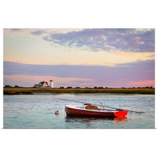 """""""Cape Cod lighthouse"""" Poster Print"""