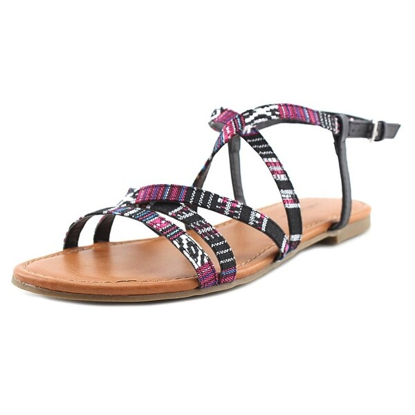 Indigo Rd. camrie 2 Women Open-Toe Canvas Multi Color Slingback Sandal