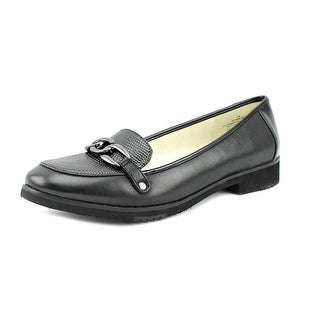 Anne Klein AK Herlina Loafer   Round Toe Leather  Loafer