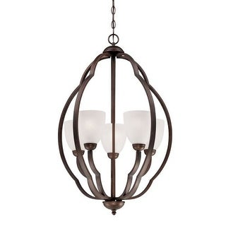 Millennium Lighting 6545 Camilla 5 Light 1 Tier Chandelier