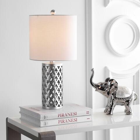 "SAFAVIEH Lighting 21-inch Rorie LED Table Lamp - 10""x10""x21"""