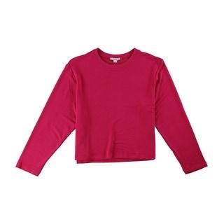 Link to Bar Iii Womens Cropped Sweatshirt Similar Items in Loungewear