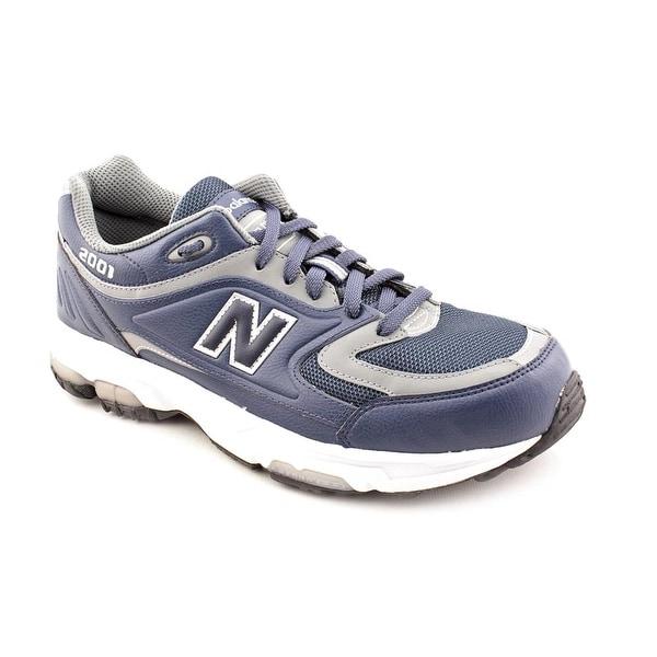 New Balance M2001 Men Round Toe Synthetic Walking Shoe