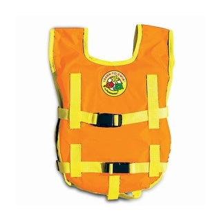 Orange and Yellow Unisex Child's Water or Swimming Pool Freestyler Swim Training Vest - Up to 65lbs