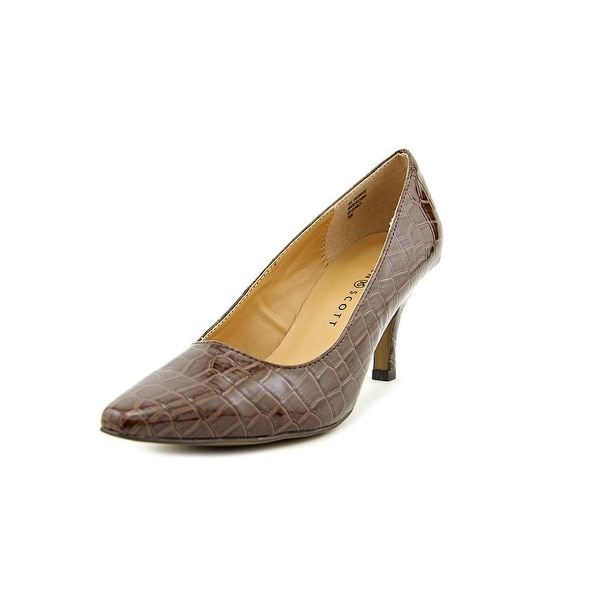 Karen Scott Clancy Women Brown Pumps