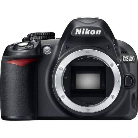 Nikon D3100 14.2MP DX-Format CMOS DSLR Digital Camera (Body Only) -