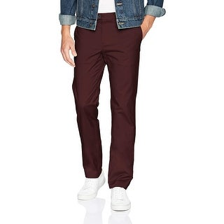Link to Calvin Klein Mens Pants Brown Size 38X32 Slim-Fit Tapered Chino Stretch Similar Items in Big & Tall