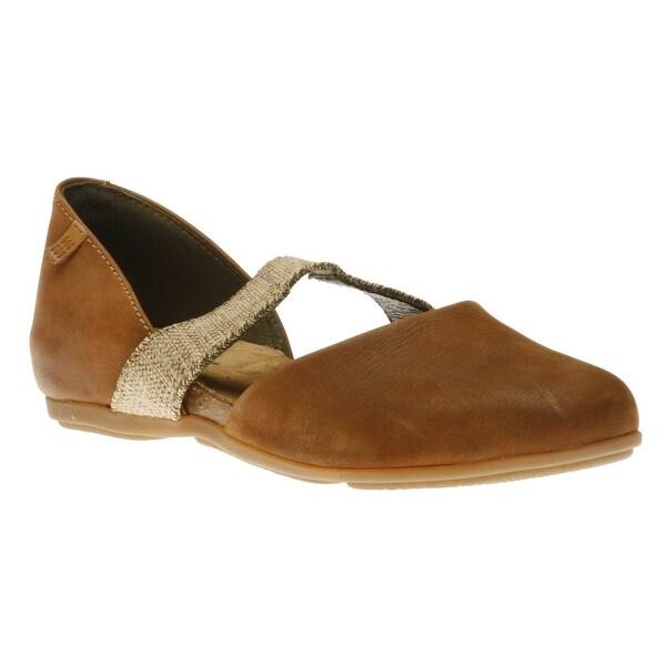 4c33bbeab1e Shop El Naturalista Womens Stella Closed Toe Ballet Flats - 7.5 ...