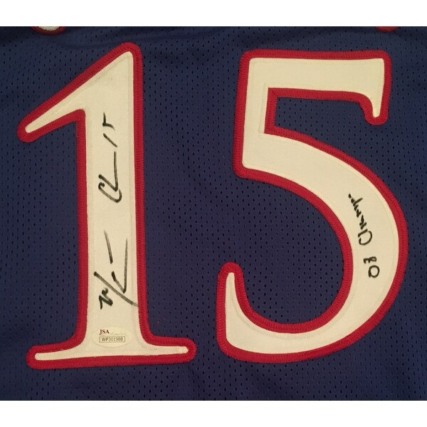Mario Chalmers Autographed Kansas Jayhawks THE SHOT Signed Framed 8x10 Basketball Photo