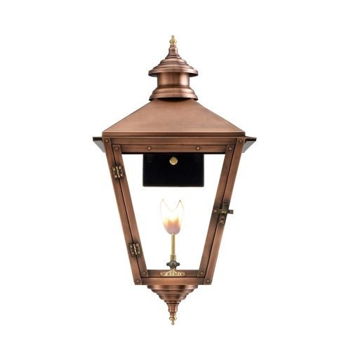 "Primo Lanterns SV-22G Savannah 20"" Wide Outdoor Wall-Mounted Lantern Natural Gas Configuration"