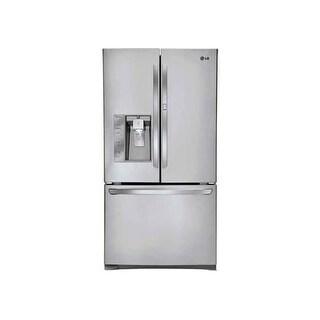 LG LFXS29766 29 Cubic Foot Ultra Capacity 3 Door French Door Refrigerator with D