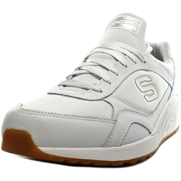 Skechers OG 95 Morrowson Men Round Toe Synthetic White Sneakers