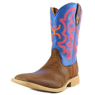 Twisted X Hooey NWS Toe Square Toe Leather Western Boot