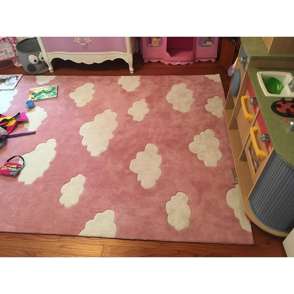 Nuloom Handmade Modern Clouds Kids Area Rug On Free Shipping Today 10339769