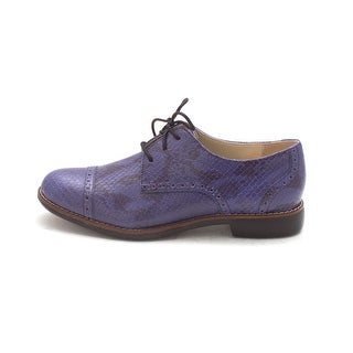Cole Haan Womens Priskasam Closed Toe Oxfords