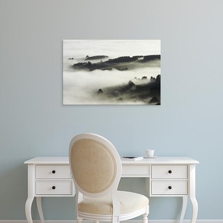 Easy Art Prints David Wall's 'Kaikoura Ranges I' Premium Canvas Art