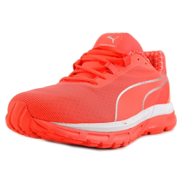 Puma Faas 600 S v2 PWRWARM Women Round Toe Synthetic Orange Running Shoe