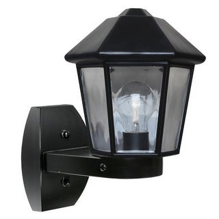 Costaluz 3272-WALL 1 Light Incandescent Outdoor Wall Sconce with Clear Glass Shade