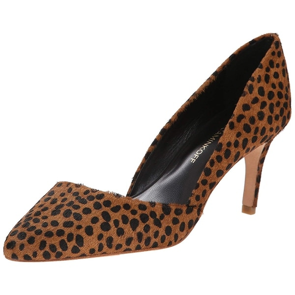Rebecca Minkoff Women's Brie Pump, Leopard, Size 10.0 - 10
