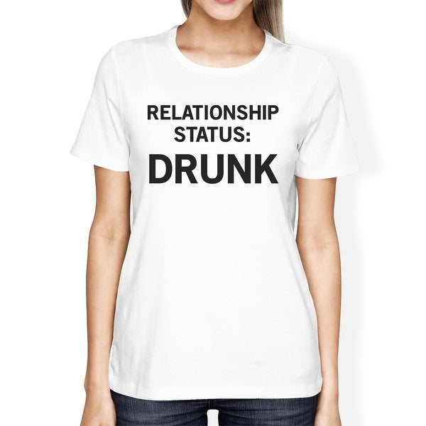 Relationship Status Womens Cute Tee Funny Graphic Trendy Design