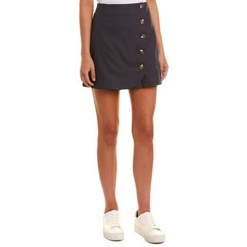Very J Mini Wrap Skirt
