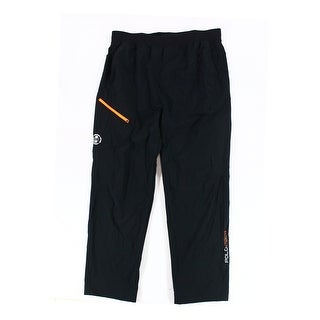 Polo Sport NEW Black Mens 2XL Utility Pockets Elastic Waist Track Pants