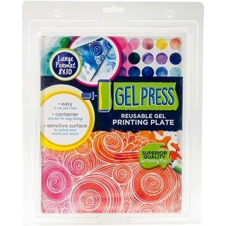 "PolyGel Gel Plate 8""x10""-"